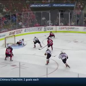 John Gibson Save on Mike Cammalleri (07:45/2nd)