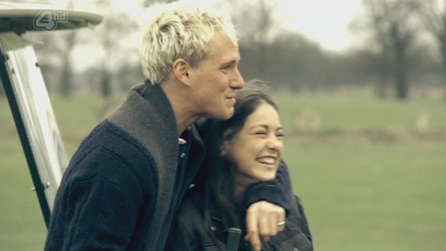 Louise Thompson and Jamie Laing