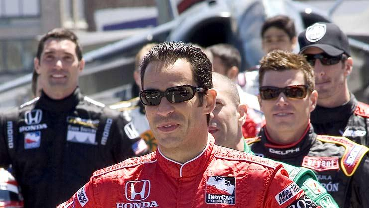 Helio Castroneves of the 2006 Indianapolis 500 Starting Lineup Visits NYC.