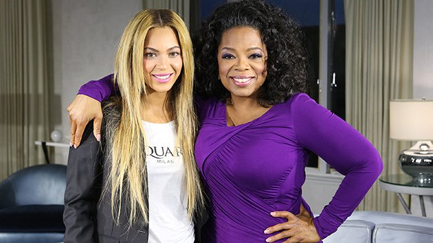 """Oprah's Next Chapter"" Beyonce and Oprah Winfrey"