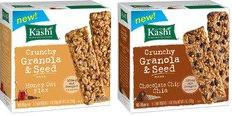 Kashi's New Crunchy Granola And Seed Bars Nourish Healthy Appetites