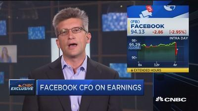 Facebook CFO: Great quarter almost any way you look at it