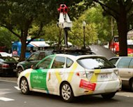 <p>A Google Street View car is seen mapping Washington, DC in 2011. Google welcomed on Friday a ruling by Switzerland's highest court that it does not have to blur all faces and car registrations on its Street View service in the country.</p>