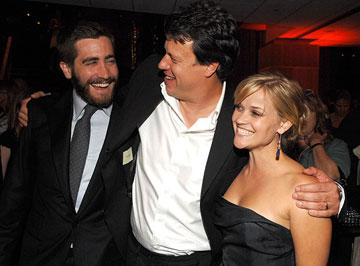 Jake Gyllenhaal ,  director Gavin Hood and Reese Witherspoon at the Los Angeles premiere of New Line Cinema's Rendition