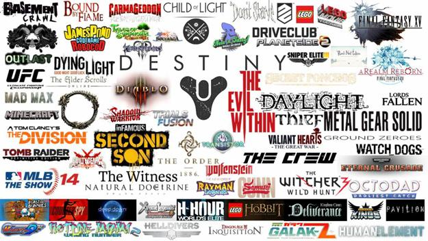 Here's a massive list of PlayStation 4 games set for release in 2014