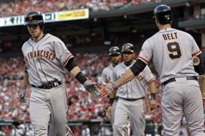 Posey, Zito lead Giants past Cardinals, 4-2