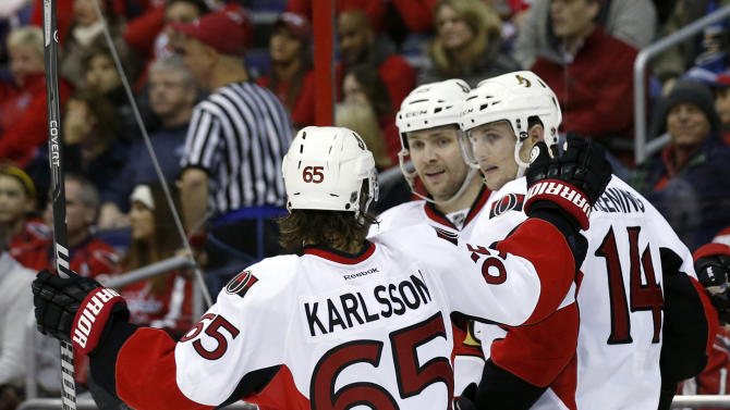 Senators defeat Capitals 6-4