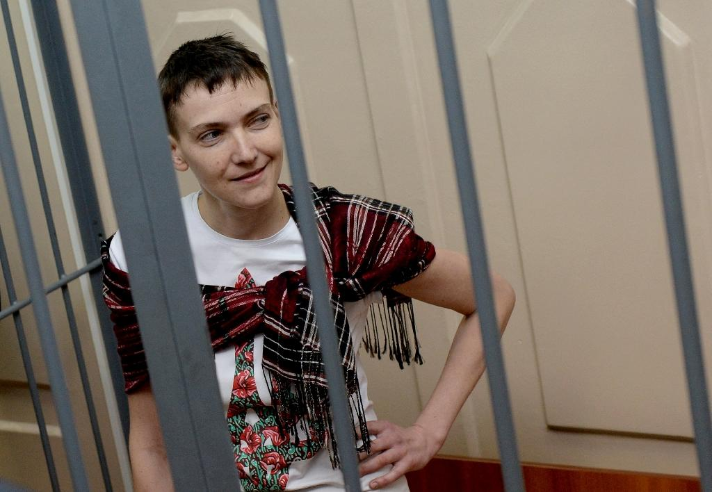 Hunger strike Ukraine pilot 'being transferred' to Russian hospital