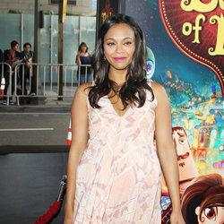 Zoe Saldana gives birth to twins -- A look back at her best pregnancy looks