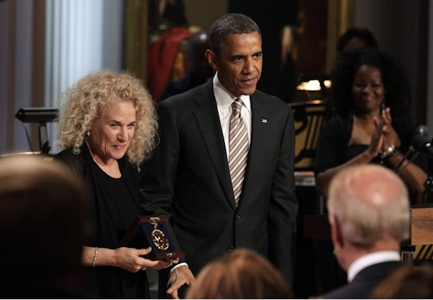 President And Mrs. Obama Host Concert Honoring Carole King