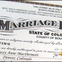 Boulder Courtroom At Center Of Same-Sex Marriage Battle