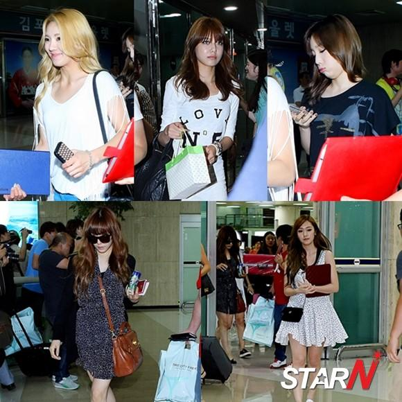Girls' Generaion's amazing airport fashion