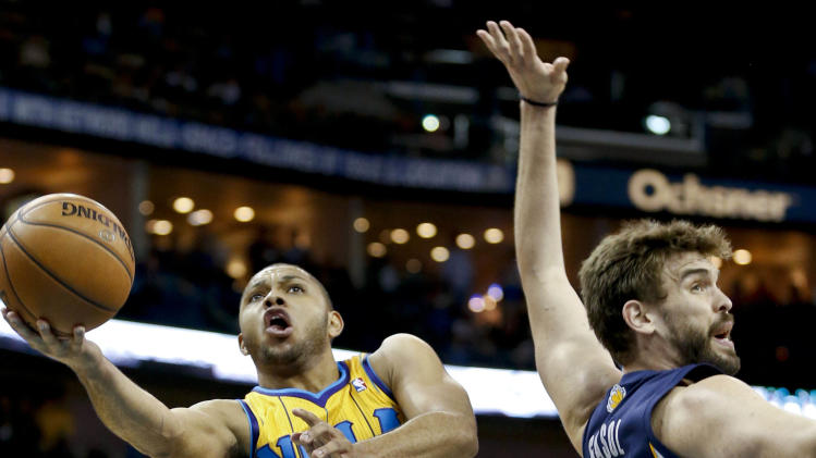 NBA: Memphis Grizzlies at New Orleans Hornets