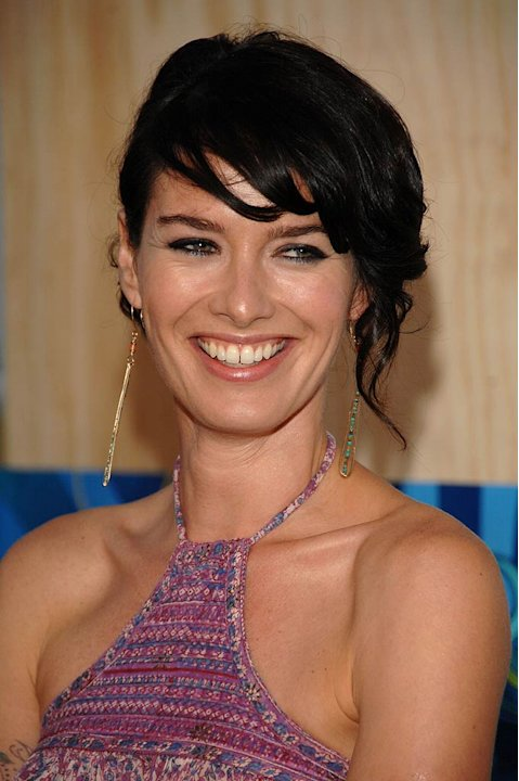 Lena Headey arrives at the 2007 FOX TCA Party. 