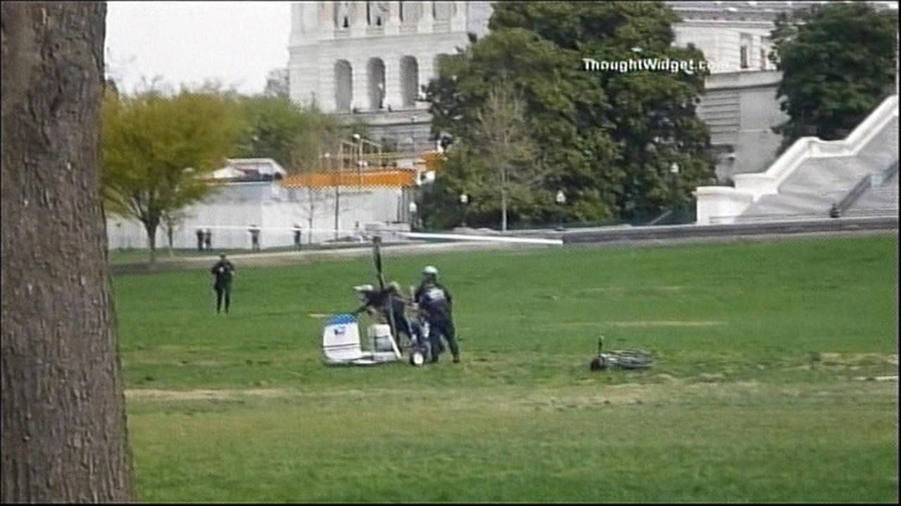 Gyrocopter Pilot in Court