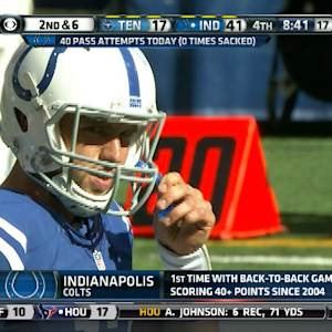 Week 4: Indianapolis Colts quarterback Andrew Luck highlights