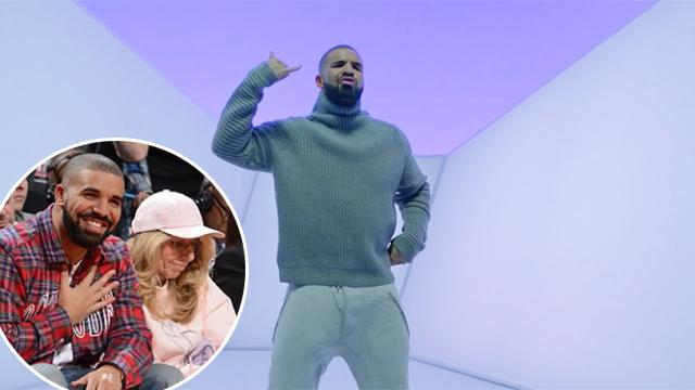 You Won't Watch Anything Cuter Than Drake and His Mom Dancing to 'Hotline Bling'