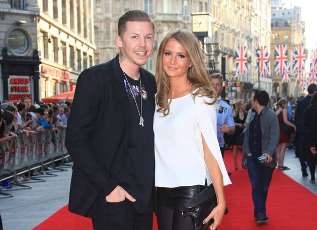Made in Chelsea, Millie Mackintosh and Professor Green