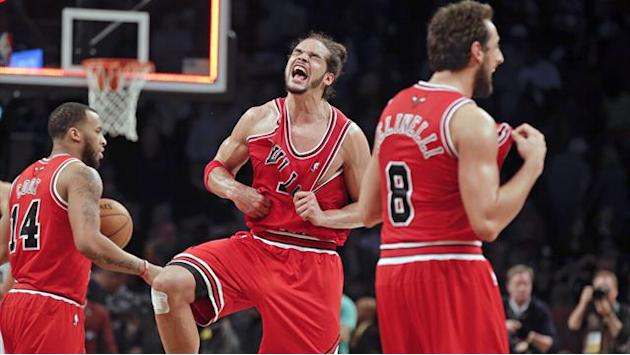 NBA - Noah inspires Bulls to Game Seven win in Brooklyn