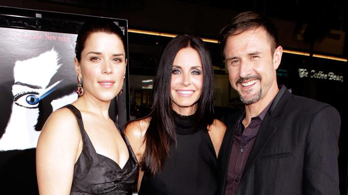 Scream 4 LA Premiere 2011 Neve Campbell Courteney Cox David Arquette