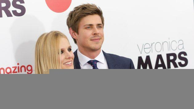 Kristen Bell and Chris Lowell attend the 'Veronica Mars' screening at AMC Loews Lincoln Square on March 10, 2014 in New York City -- Getty Images