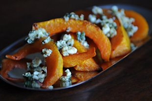 Caramelized Butternut Squash Wedges