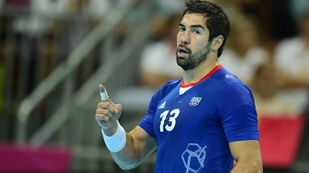 HANDBALL Londres 2012 France - Karabatic