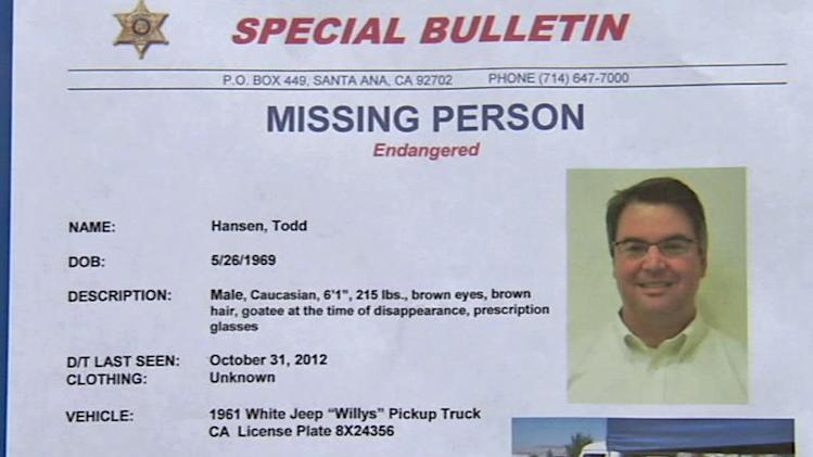 OC man mysteriously disappears