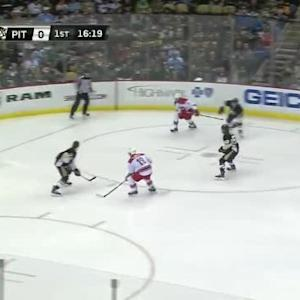 Marc-Andre Fleury Save on Eric Staal (03:41/1st)