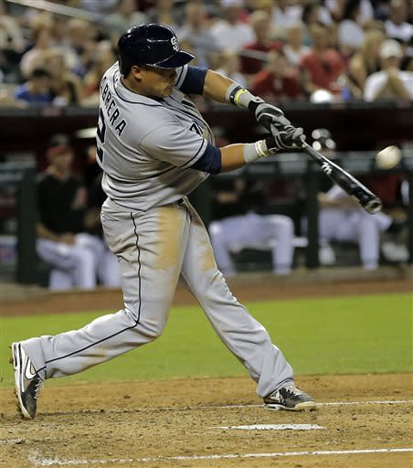 Cabrera's 4 RBIs lead San Diego past Arizona 10-4