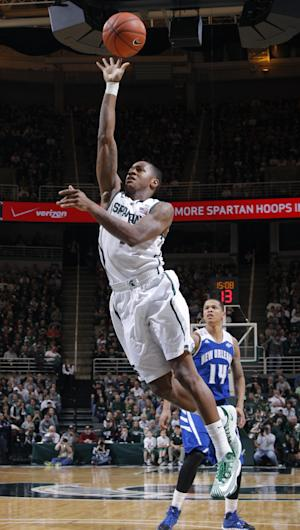 No. 5 Michigan State routs New Orleans 101-48