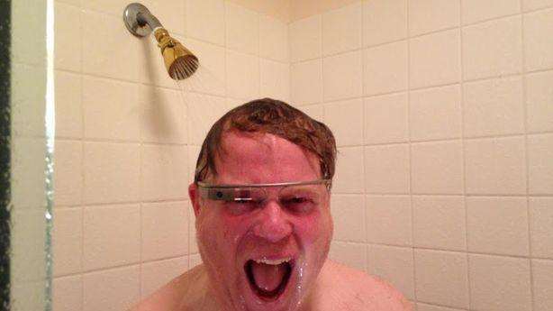 This Is Not Where You're Supposed to Wear Your Google Glass