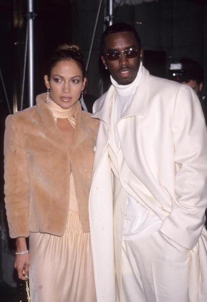 Jenny and Puff Daddy at the Costume Institute Gala in December 1999