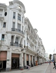 Buildings built in the 1930s in the European district of Casablanca