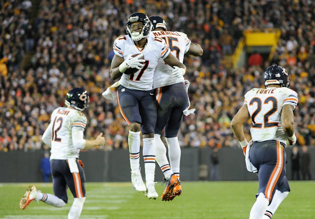 No WR duo combined for more catches in '13 than Brandon Marshall and Alshon Jeffery. (USAT)