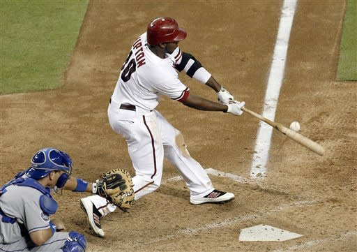 Upton has big hit for D-backs in win over Dodgers