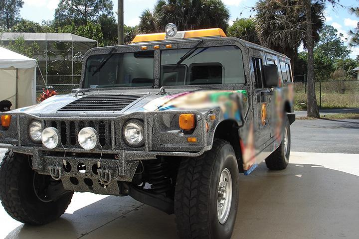 Buy Dennis Rodman's Custom Hummer H1 and Become a Legend