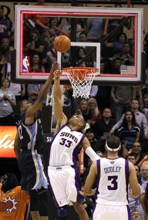 Dudley shoots Suns past Grizzlies 86-84
