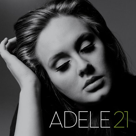 "In this CD cover image released by Columbia Records, Adele's latest release, ""21,"" is shown. (AP Photo/Columbia Records)"