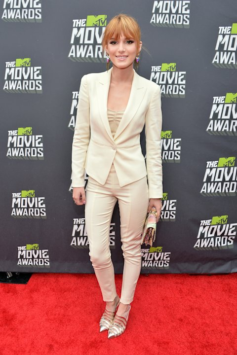 Bella Thorne at the 2013 MTV Movie Awards.