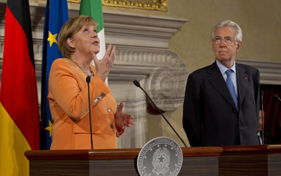 Monti: Italy does not need a bailout