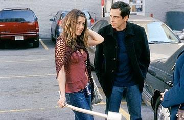 Ben Stiller and Jennifer Aniston in Universal's Along Came Polly