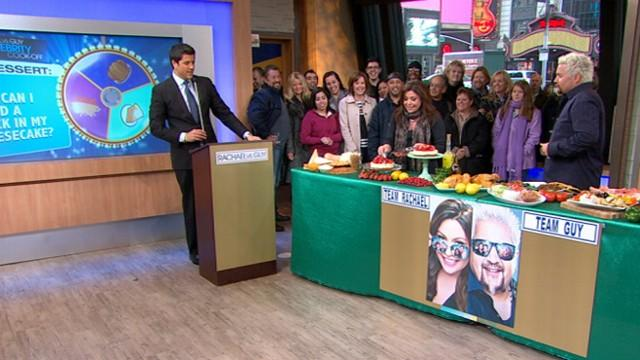 Rachael Ray vs. Guy Fieri in Cooking Question-Off