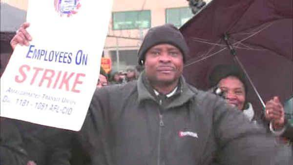 New York City school bus drivers strike enters 2nd day