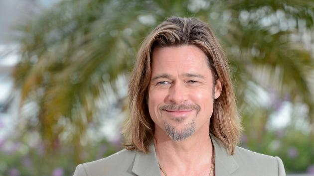 Brad Pitt poses at the 'Killing Them Softly' photocall during the 65th Annual Cannes Film Festival at Palais des Festivals in Cannes, France on May 22, 2012  -- Getty Premium