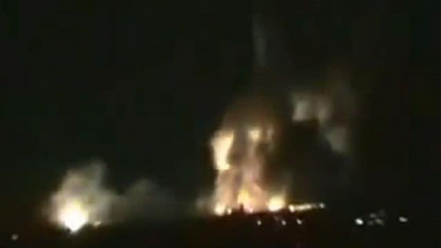 Israel Strikes Inside Syria Amid Reports of New Massacres