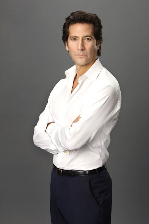"Henry Ian Cusick stars as Stephen Finch in ""Scandal."""