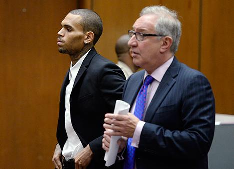 Chris Brown Ordered To Complete 1,000 More Hours Of Community Service