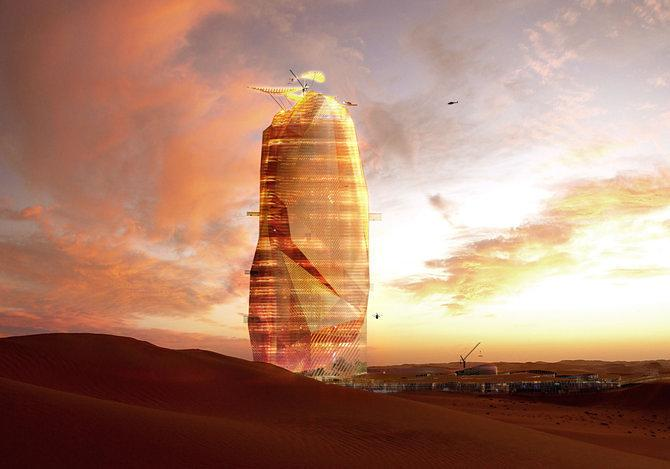 Science Fiction-Like Vertical City Could Rise in the Sahara Desert