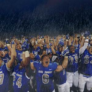 Air Force Makes It Rain After Boise State Win